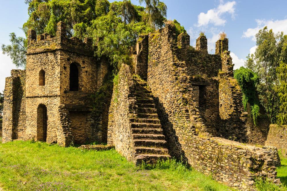 ruins at fasilides