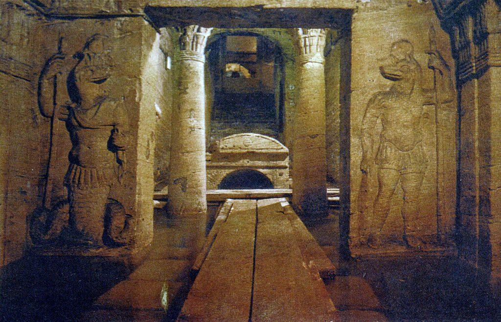 catacombs alexandria