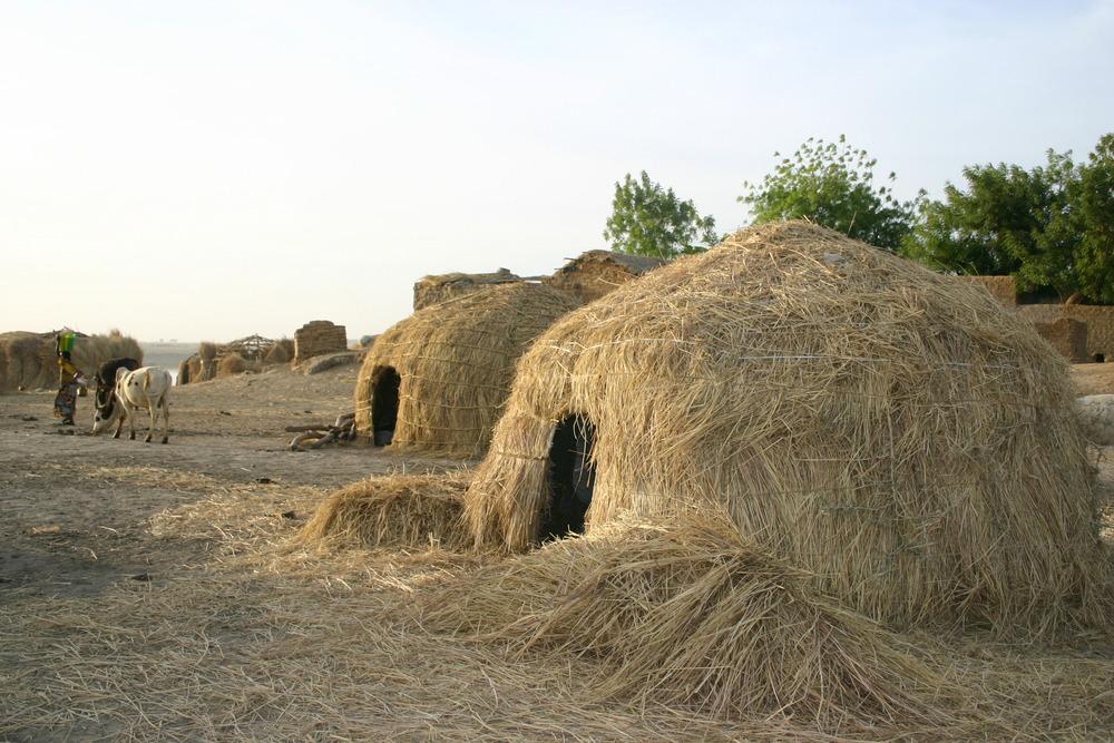 fulani hut