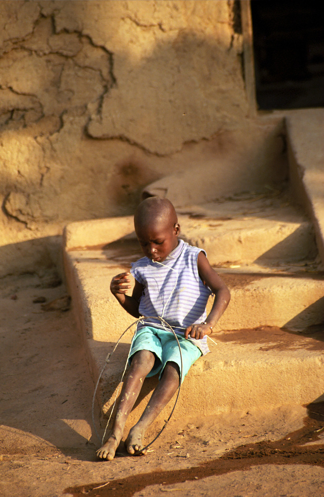 fulani kid in mali