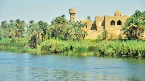 nile river near aswan