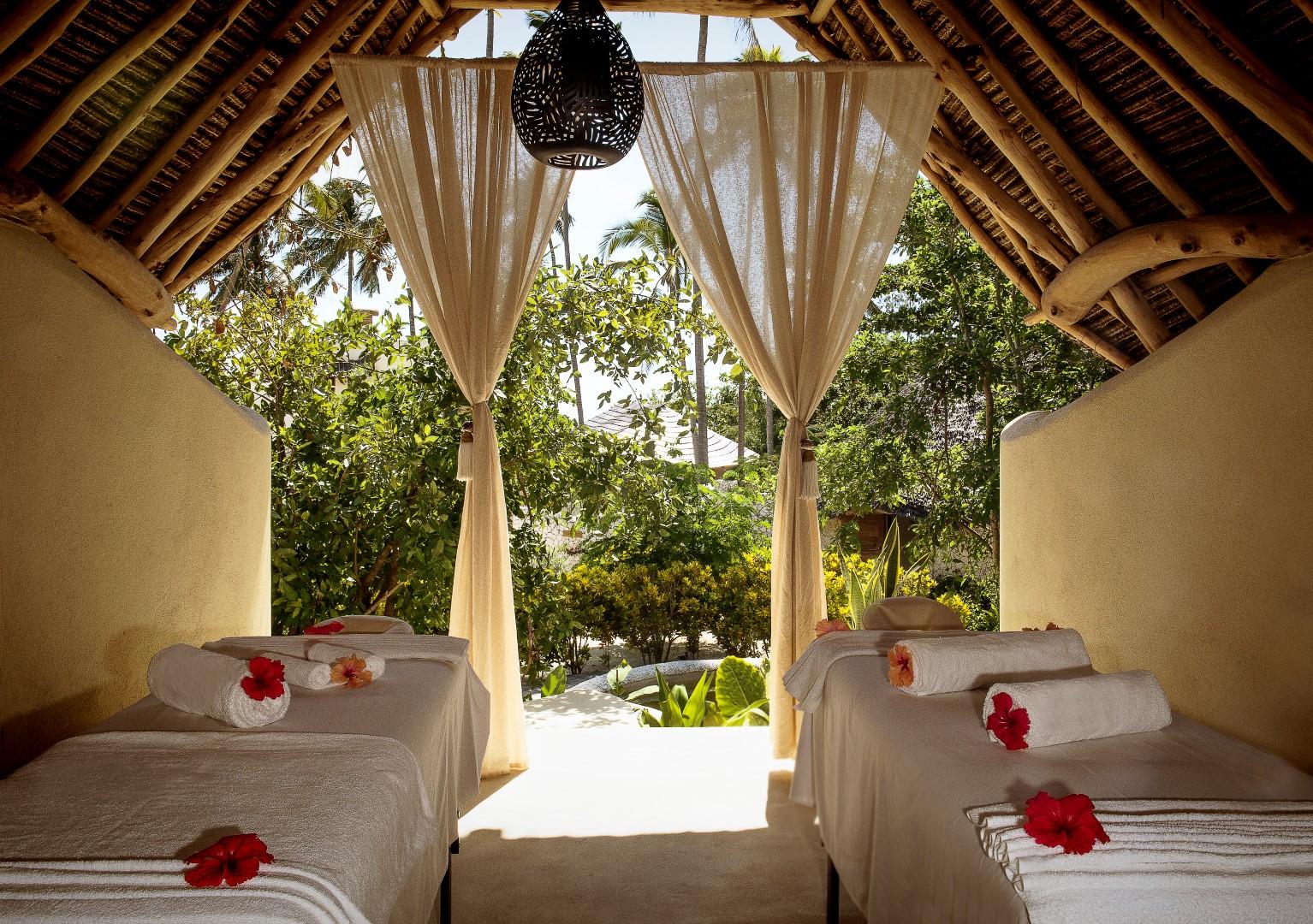 zanzibar white sand spa