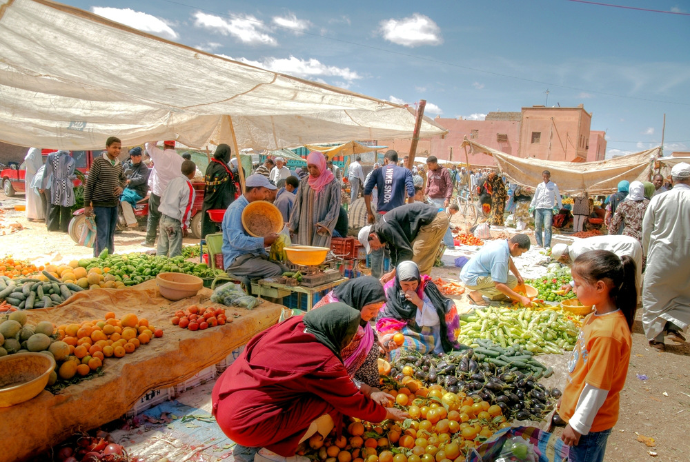 food market marrakech