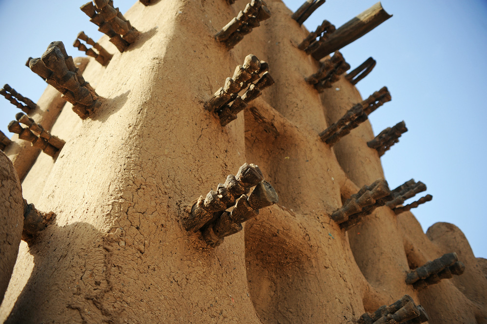 mosque close up mali