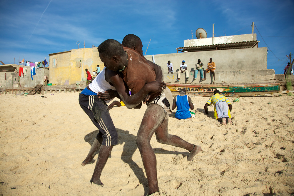 saint louis senegal wrestling