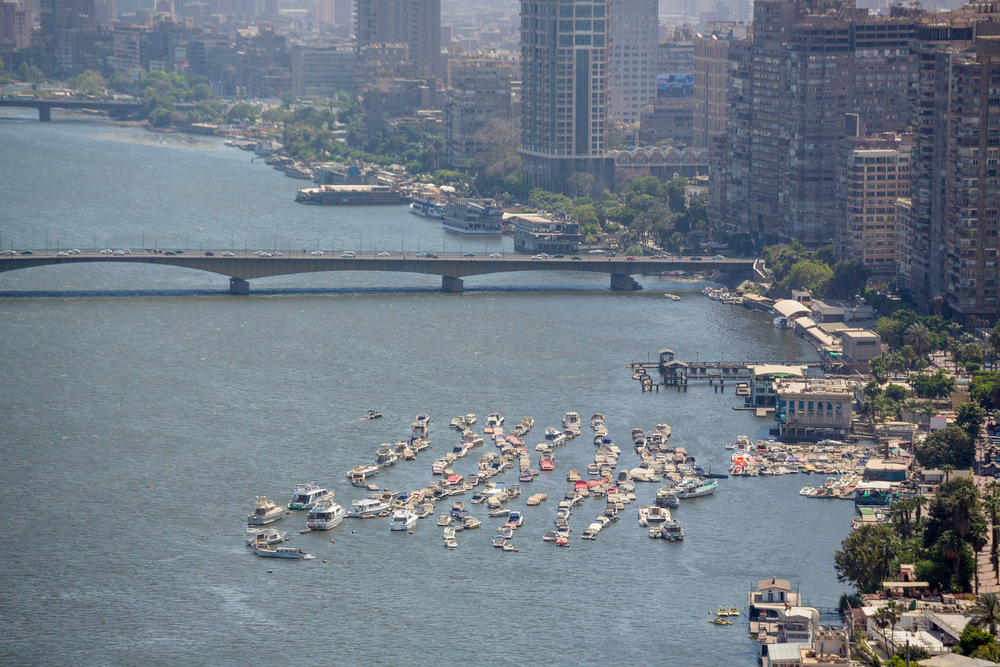 boats downtown cairo