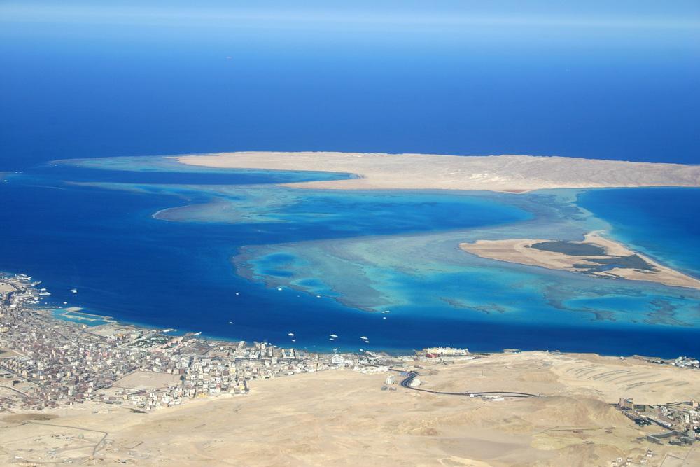 hurghada aerial