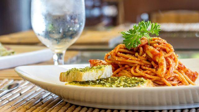 italian pasta wide
