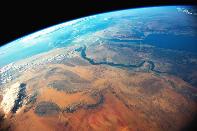 nile river aerial