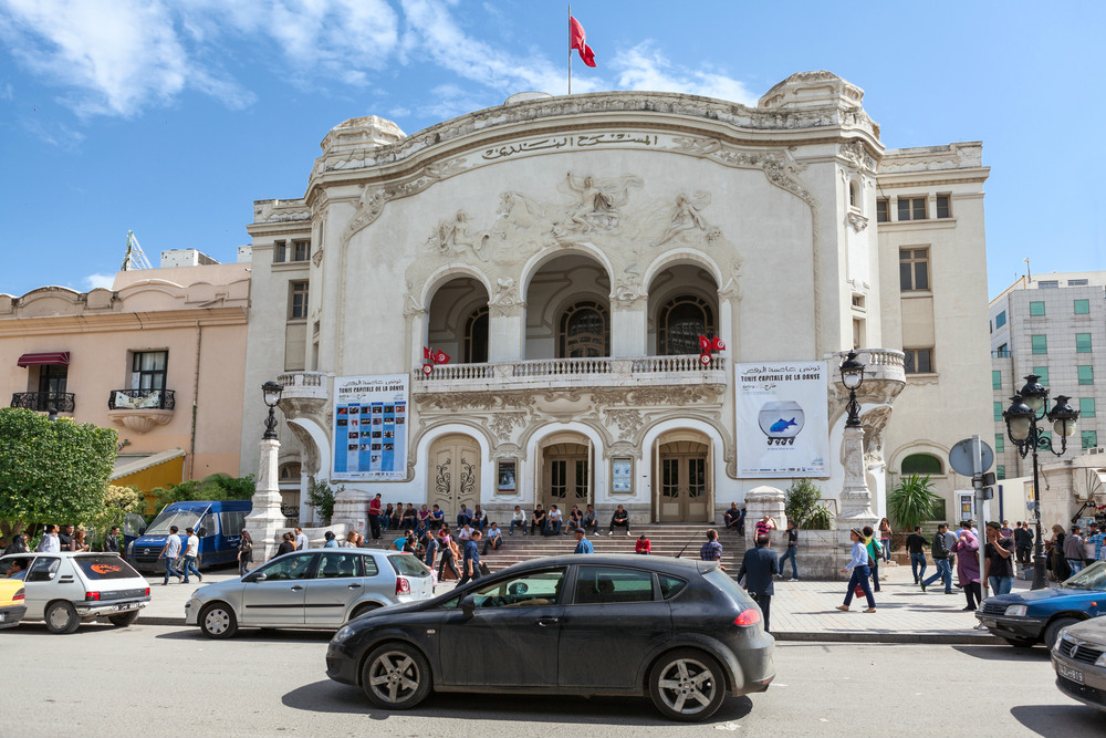 tunis national theater