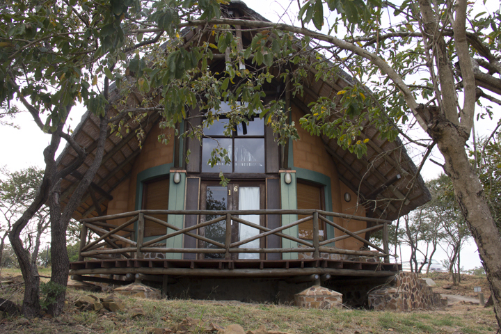 The chalets at Magadzavane Nature Reserve in the east of Swaziland