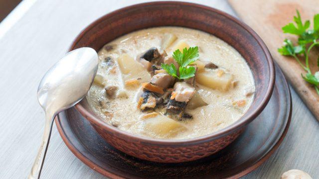 nhedzi mushroom soup
