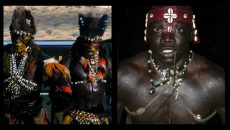 senegal wrestling collage
