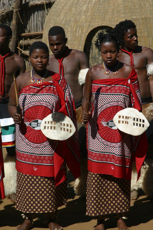 swazi women dressed