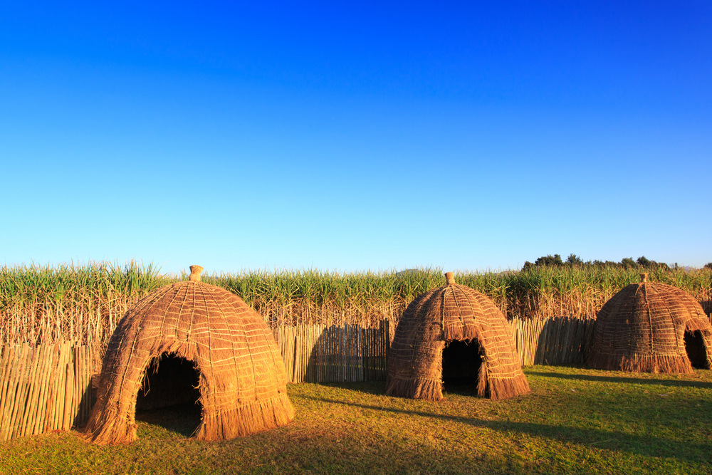 thatched house swaziland