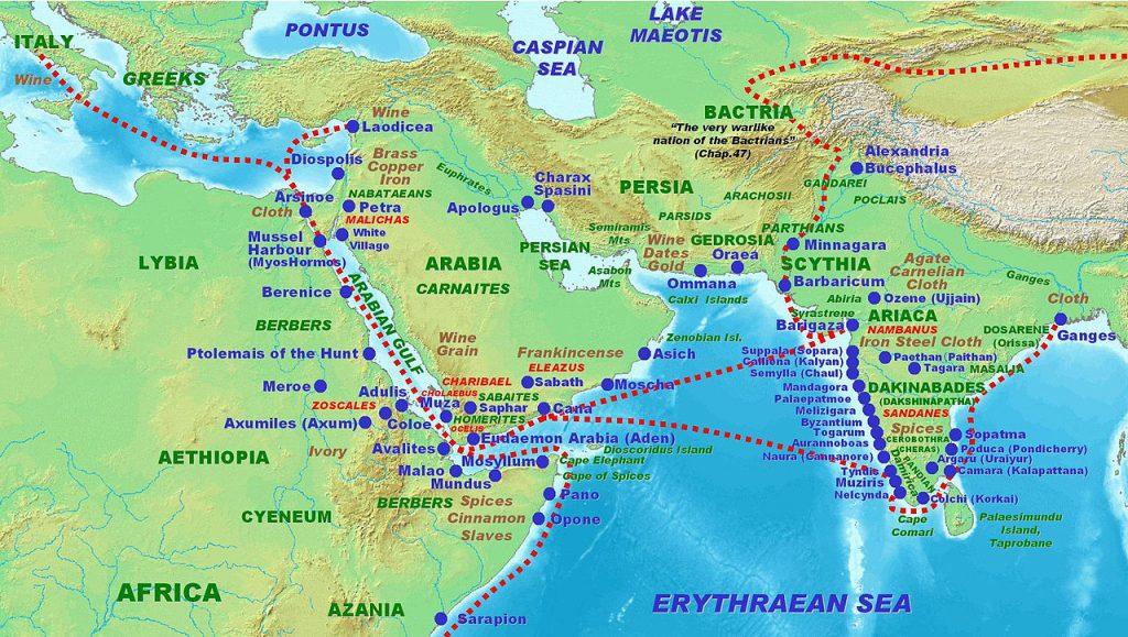 indo roman trade route