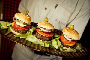 Mini burgers (Stuart Butler)