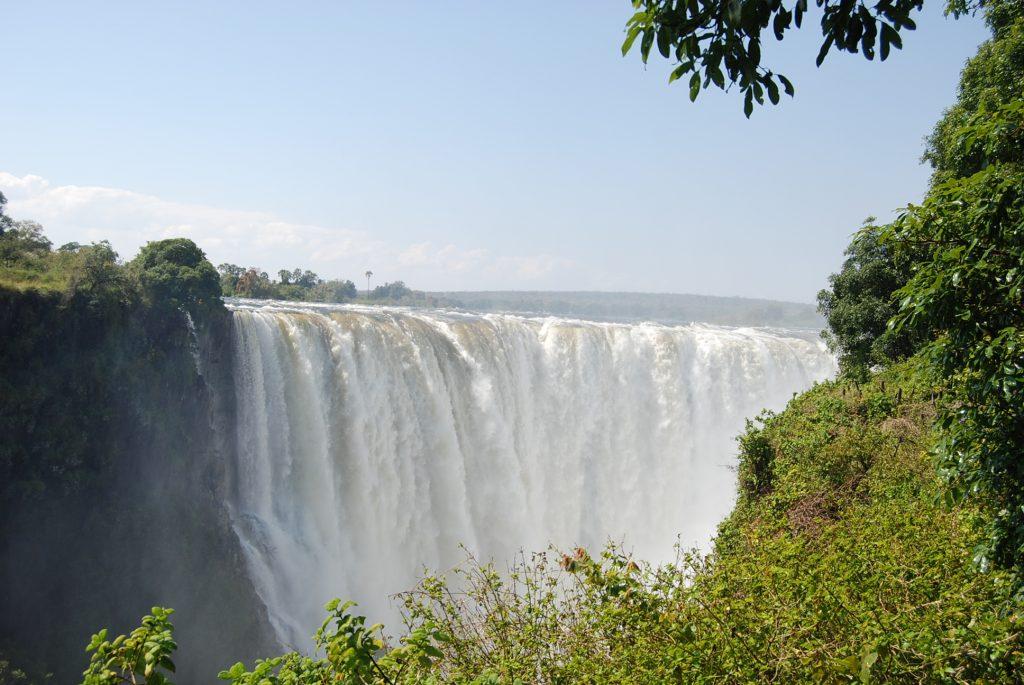 victoria falls zimbabwe side
