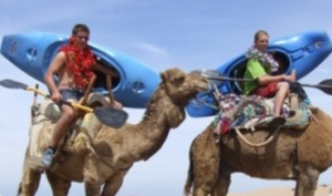 rafting in morocco on camels