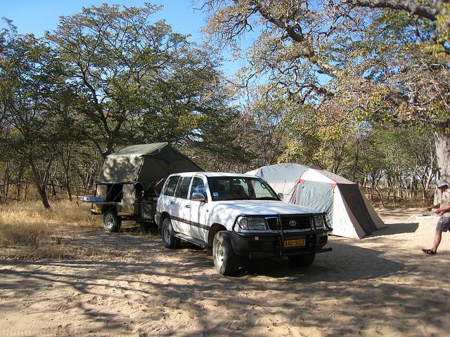camping hwange